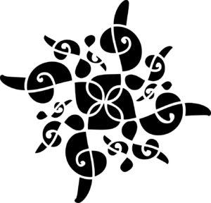 logotip vokalne skupine Gallina
