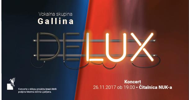 Delux koncert, Čitalnica NUK-a