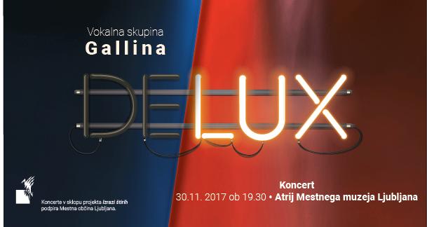 Delux koncert, Atrij Mestnega muzeja Ljubljana