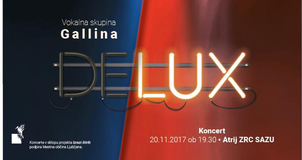 Delux koncert, Atrij ZRC SAZU